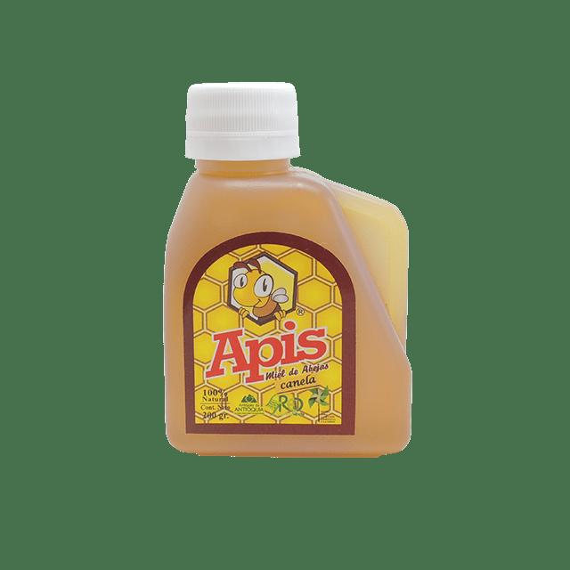 Miel de abejas con canela por 3 Unds 200 gr. (Miel con Canela)-min