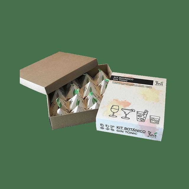 Gin Tonic Kit Botánico x 16 pirámides