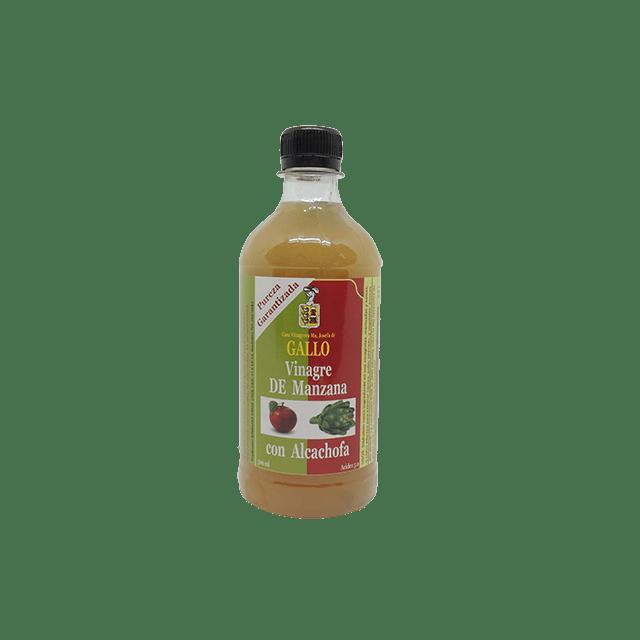 Vinagre de Manzana alcachofa 500 ml saludsabor