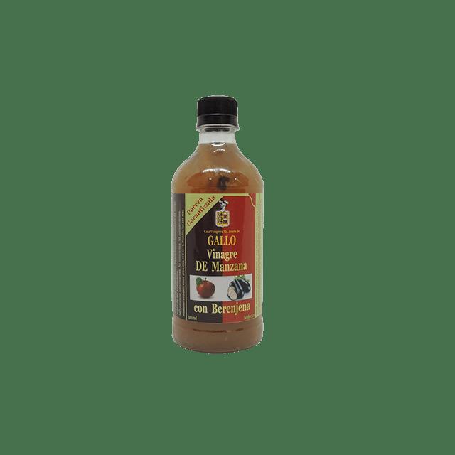 Vinagre de Manzana berenjena 500 ml saludsabor