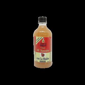 Vinagre de Manzana con la madre 500 ml saludsabor