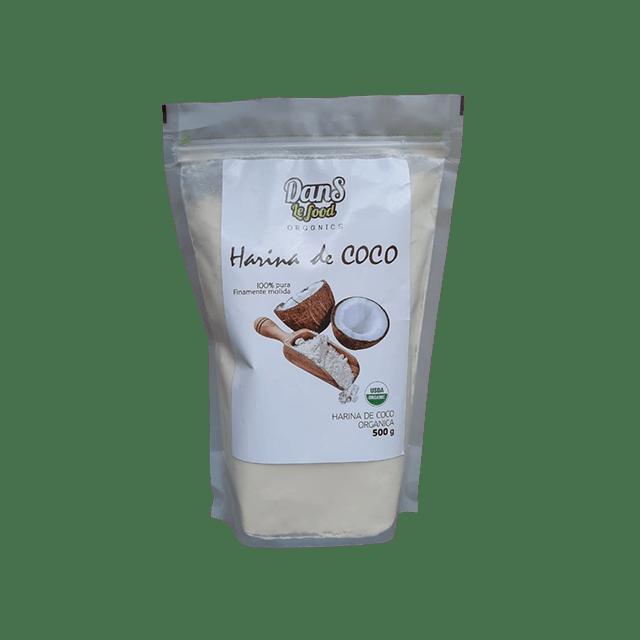 Harina de Coco orgánica certificada